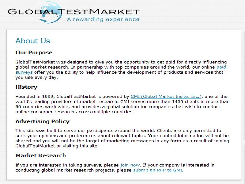 Global Test Market Review! | Make Money From Home!