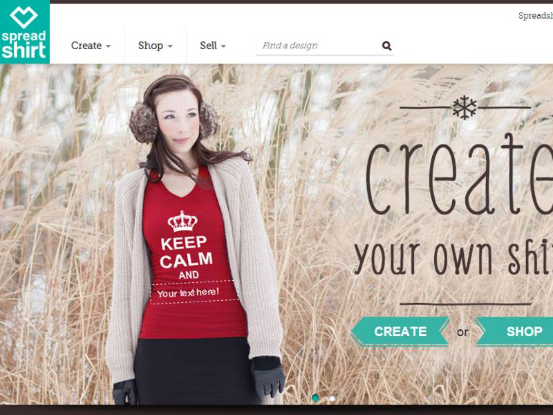 Spreadshirt Launches Touch-Optimised T-shirt Designer in